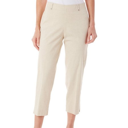 Cathy Daniels Petite Pull-On Ankle Pants
