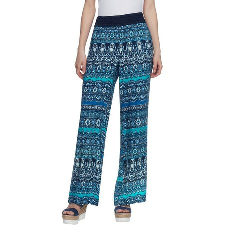 New! Skyes The Limit Womens Atlantis Palazzo Pants