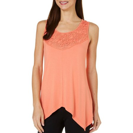 Skyes The Limit Womens Sonoma Valley Lace Tank