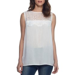 New! Skyes The Limit Womens Crepe Sharkbite Tunic.