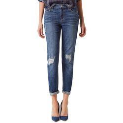 Vintage America Womens Dark Gratia Boyfriend Jeans