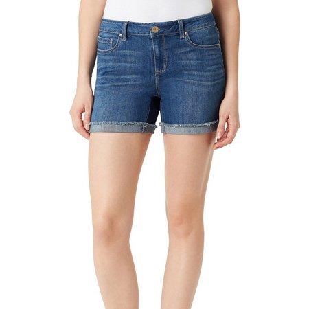 New! Vintage America Womens Evelyn Boho Denim Shorts