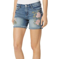 Vintage America Womens Collette Denim Shorts