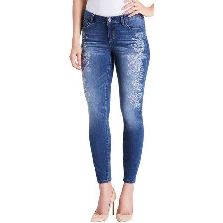 Vintage America Misses Boho Skinny Jeans