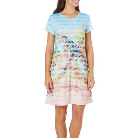 Leoma Lovegrove Womens Palms Away Dress