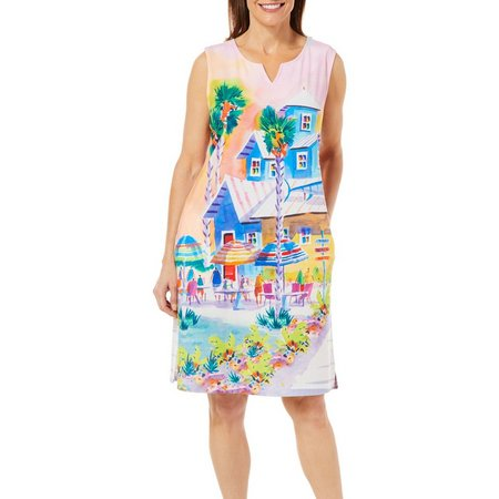 Ellen Negley Womens Pompano Joes Dress