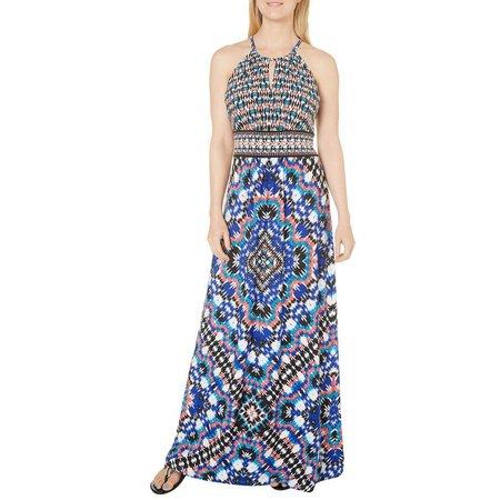 London Times Womens Kaleidoscope Print Dress