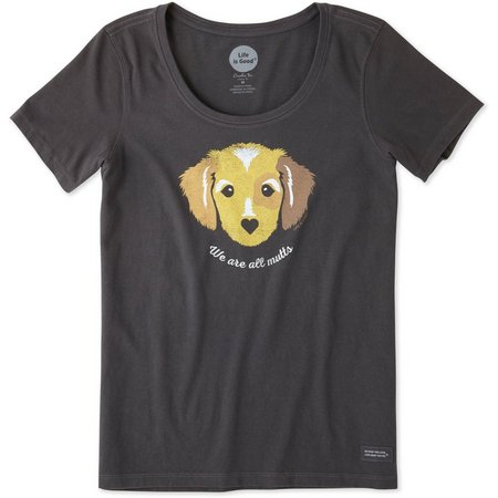 Life Is Good Womens We're All Mutts Dog