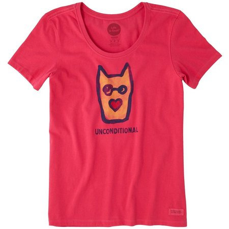 Life Is Good Womensl Rocket Dog Crusher T-Shirt