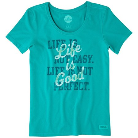 Life Is Good Womens Perfect Good Crusher T-Shirt