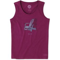 Life Is Good Womens Adirondack Crusher Tank Top