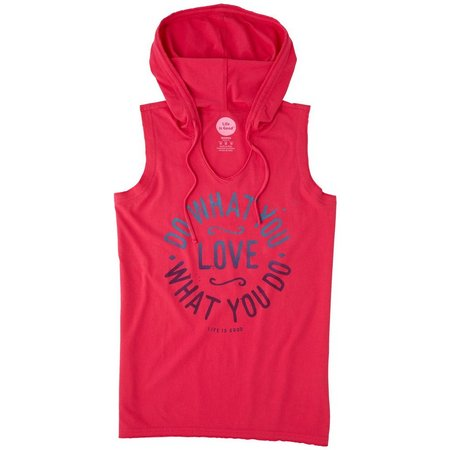 Life Is Good Womens What You Love Hoodie