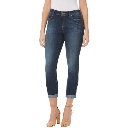 BANDOLINO Womens Elizabeth Denim Ankle Jeans