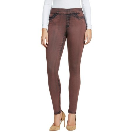 BANDOLINO Womens Pull On Twill Leggings