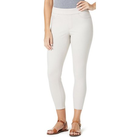BANDOLINO Womens Thea Pull-On Solid Crop Leggings