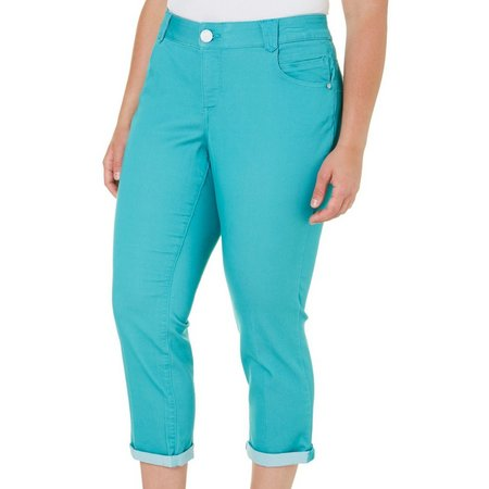 Democracy Plus Ab-solution Solid Ankle Pants