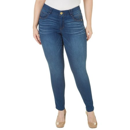 Democracy Plus Ab Solution Lift Whiskered Jeans