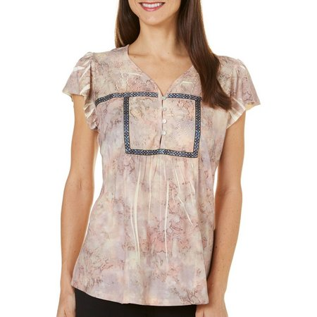 OneWorld Womens Sublimation Tie Dye Top