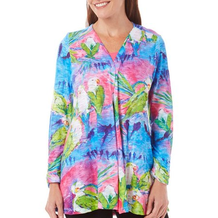 Leoma Lovegrove Womens Party Line Open Cardigan