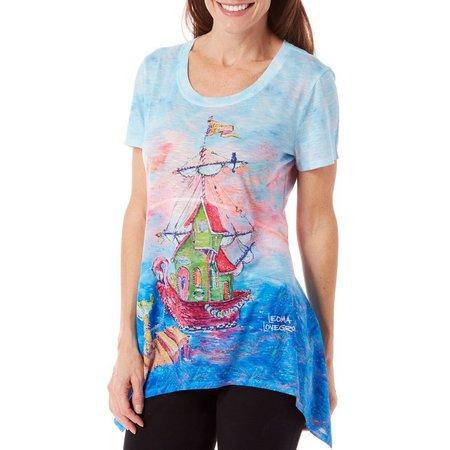 Leoma Lovegrove Womens Floating Studio Top
