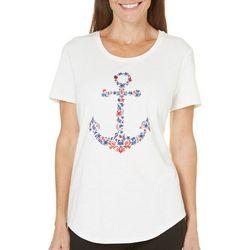 SunBay Petite Icon Anchor Shirt