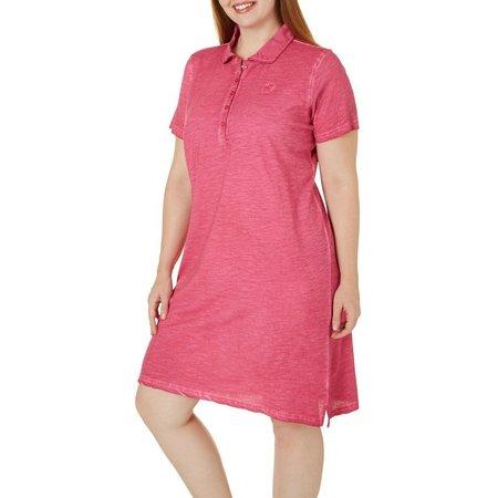 Caribbean Joe Plus Mineral Wash Knit Dress