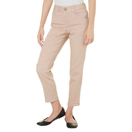 Democracy Womens Pleated Front Capris