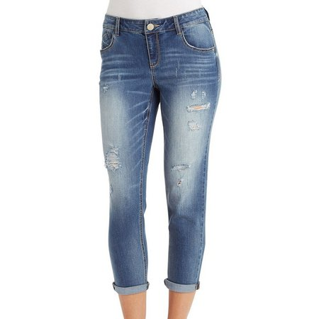 New! Democracy Womens Cool Max Slim Crop Ankle