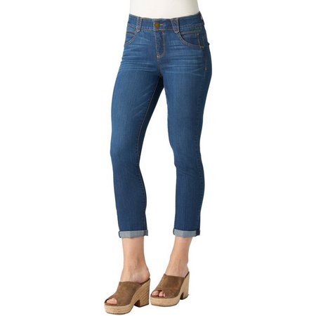 Democracy Womens Ab-solution Denim Cuff Capris