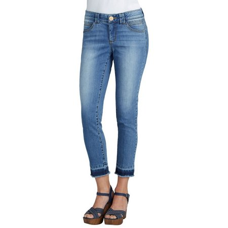Democracy Womens Ab-solution Released Hem Jeans