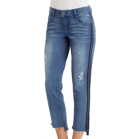 Democracy Womens Flex-ellent Ankle Skimmer Jeans