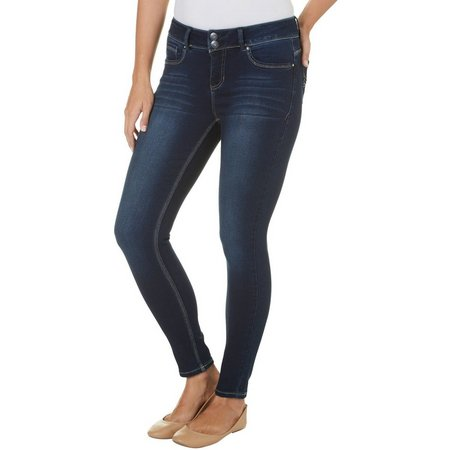 Angels Womens Curvy Skinny Jeans
