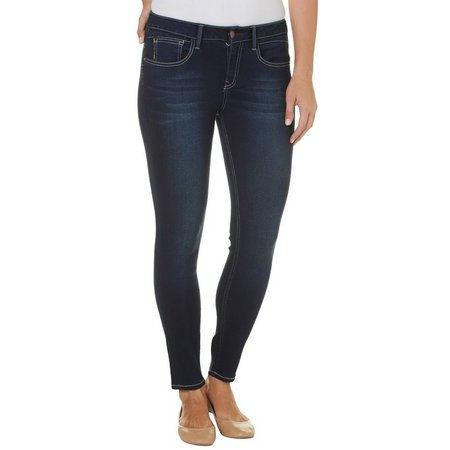 Angels Womens Push Up Skinny Jeans