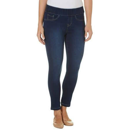 Angels Womens Pull-On 360 Sculpt Skinny Jeans