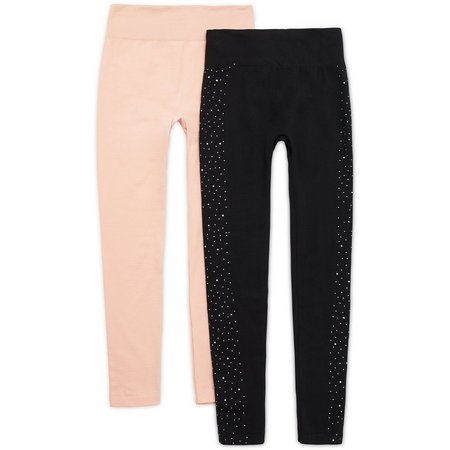 Angels Jeans Womens 2-Pk. Solid & Studded Fleece