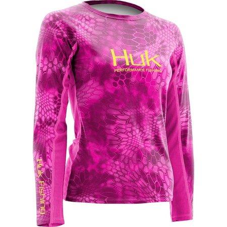 Huk Womens Kryptek Icon Long Sleeve Top