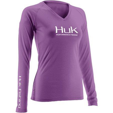 Huk Womens Performance Long Sleeve Top