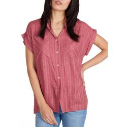 Supplies by Unionbay Womens Windowpane Shirt