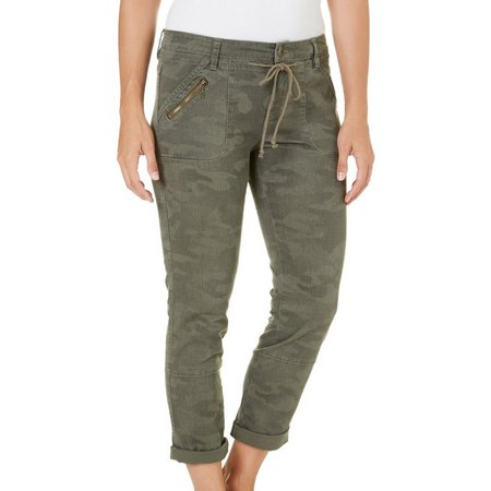 Supplies By Union Bay Womens Mina Camo Crop