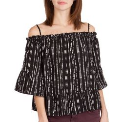 Supplies by Unionbay Womens Everly Stripe Top