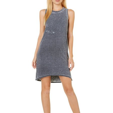 Heart & Hips Juniors Burnout High-Low Dress