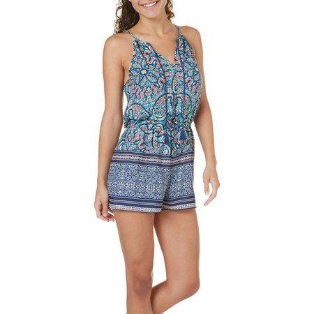 New! Be Bop Juniors Tassel Tie Floral Print