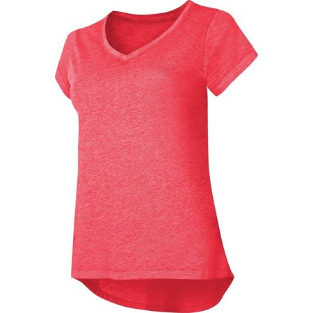 Champion Womens Gear Authentic Wash V-Neck T-Shirt