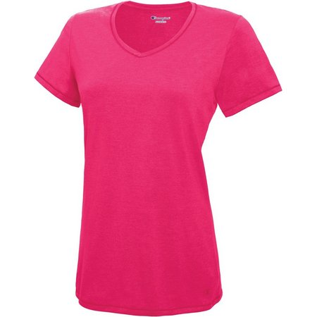 Champion Womens C Vapor Cotton T-Shirt