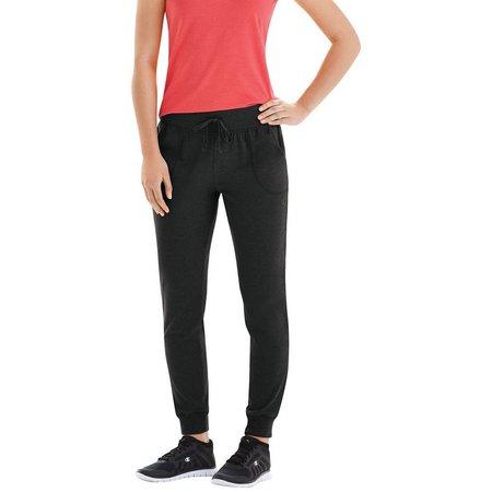 Champion Womens Jersey Drawstring Jogger Pants