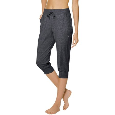 Champion Womens Jersey Banded Knee Pants