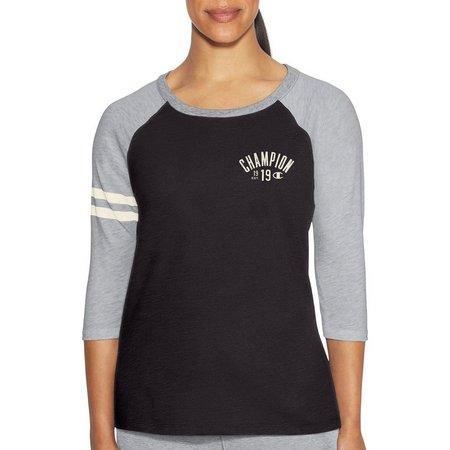 Champion Womens Heritage Slub Raglan T-Shirt