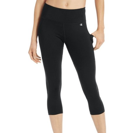 Champion Womens Mesh Inset Capri Leggings