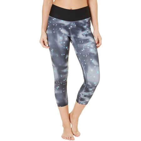 New! Champion Womens 6.2 Dandelion Orb Capris Leggings