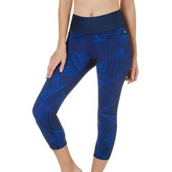 Champion Womens 6.2 Lines Run Capris Leggings
